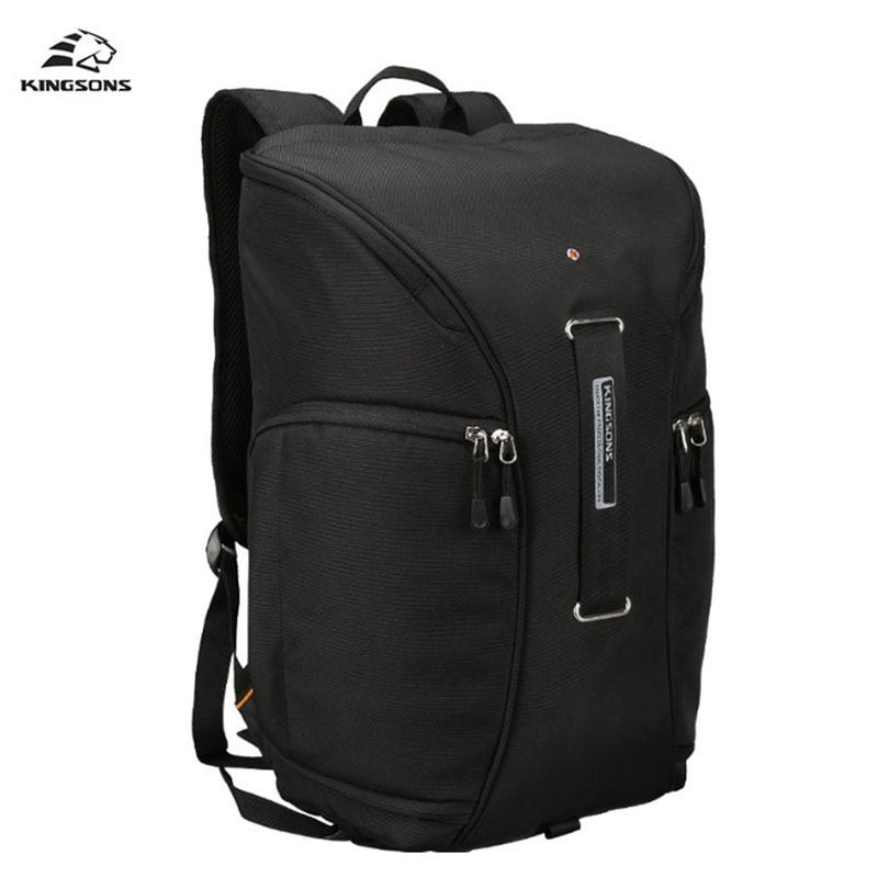 Kingsons Men Backpack DSLR Multi Lens Men Women 15 6 inch Notebook Computer School Bags For
