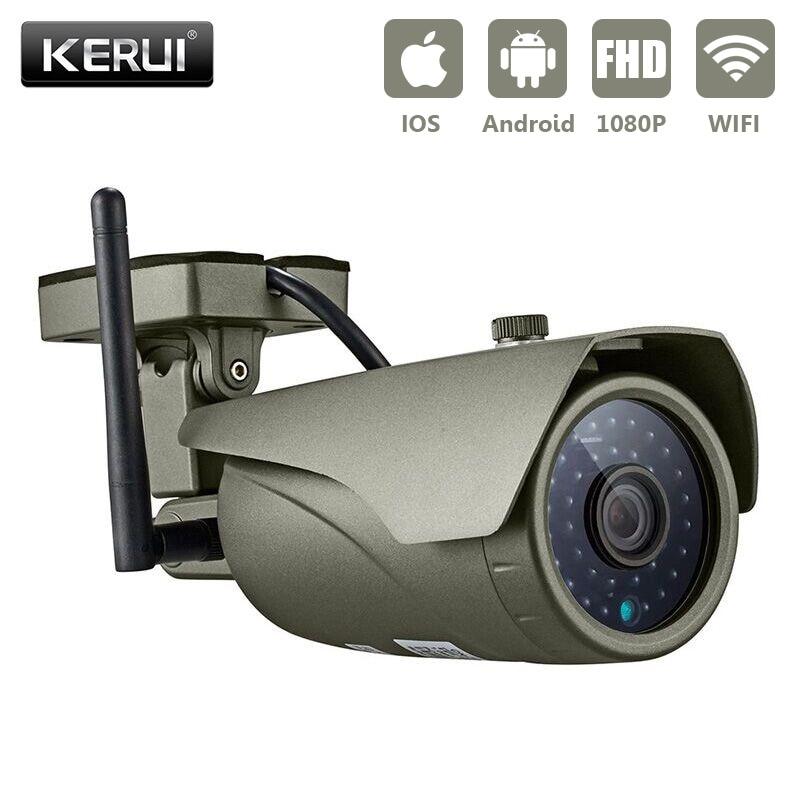 KERUI Full HD 1080P WIFI Wodoodporna kamera IP pociskowa P2P Wizja w - Bezpieczeństwo i ochrona - Zdjęcie 4