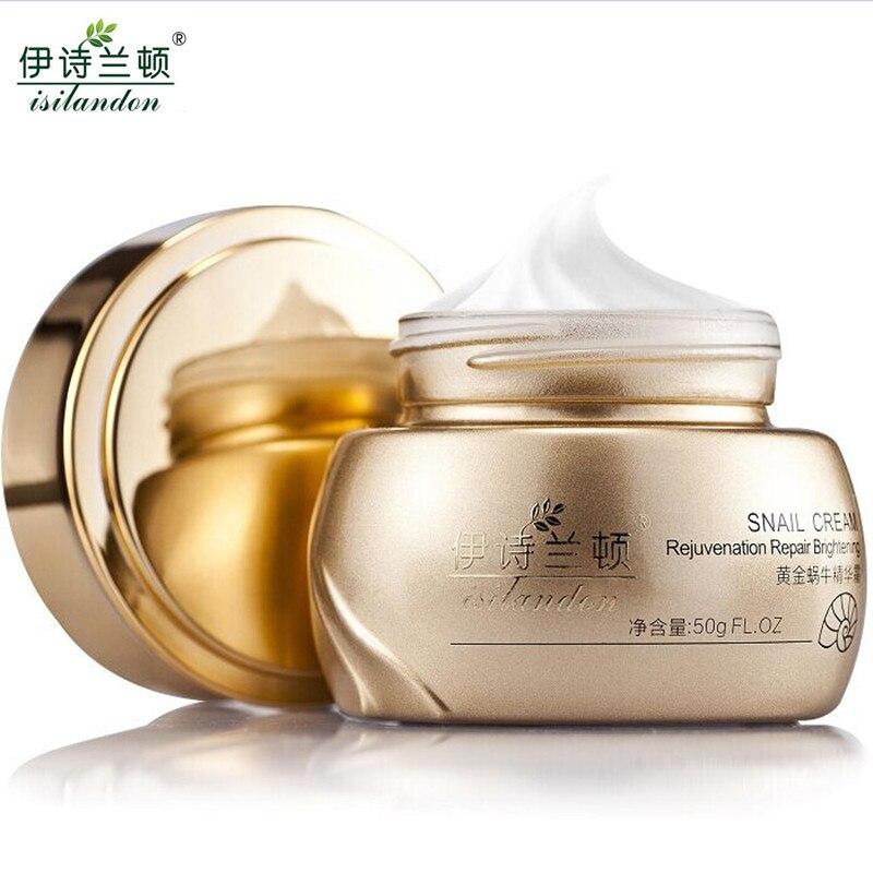 ISILANDON Oro Esencia Caracol Crema Facial Cuidado de La Piel Tratamiento Del Ac