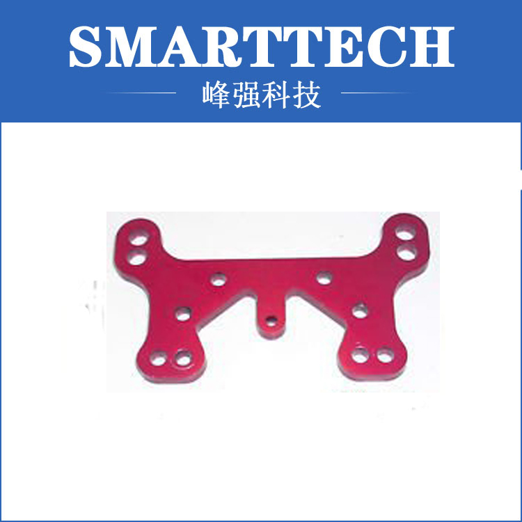 Red color spare parts, auto spare parts, CNC service