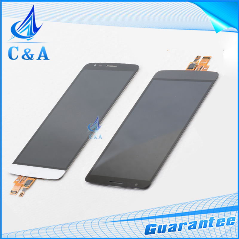 ФОТО 10pcs/lot Free EMS/DHL shipping Black/white replacement lcd display screen for LG G3 stylus D690 with touch digitizer assembly
