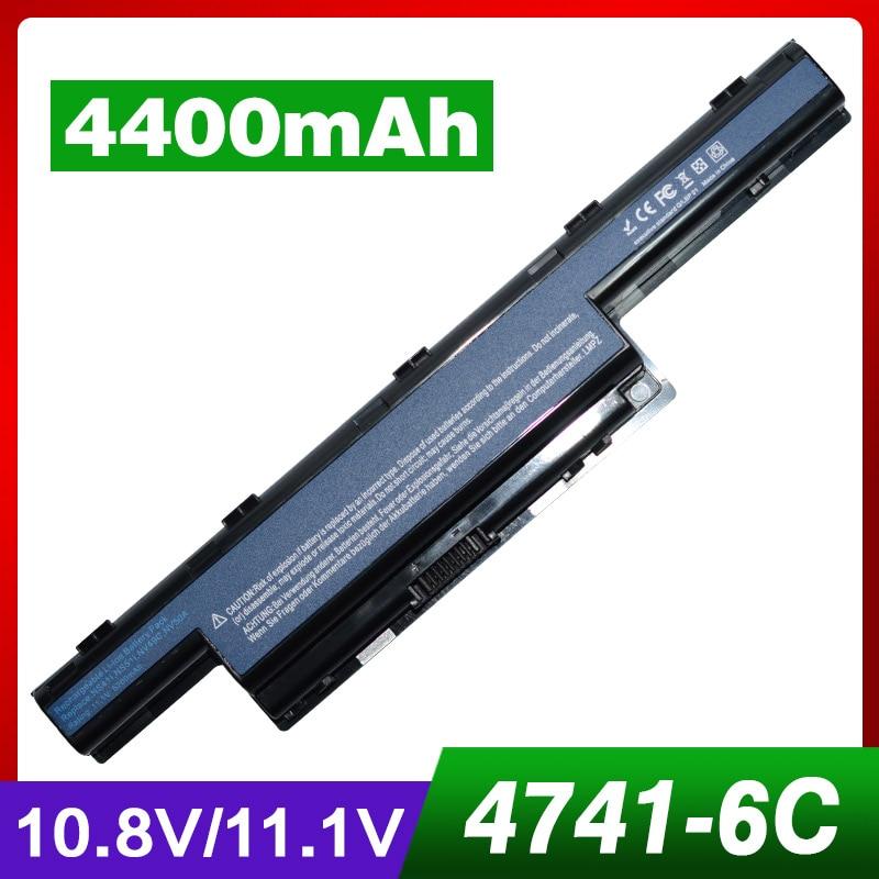 Laptop Battery for Acer AS10D51 AS10D41 AS10D81 AK.006BT.075 AK.006BT.080 V3 571G 31CR19/65-2 31CR19/652 31CR19/66-2 3INR19/65-2