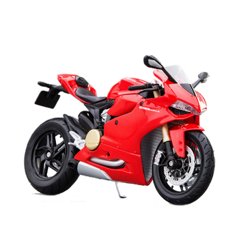 цена на MAISTO Motorcycle Model Ducati 1199 Red 1:12 scale Motorcycle Diecast Metal Bike Miniature Race Toy For Gift Collection