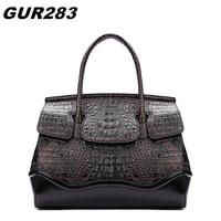 Designer Handbags High Quality Crocodile Genuine Leather Bag Women Famous Brand Shoulder Bags Female Messenger Bag