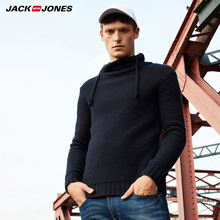 jack Jones men turtle neck sweater sweater |218325508 solid turtle neck sweater