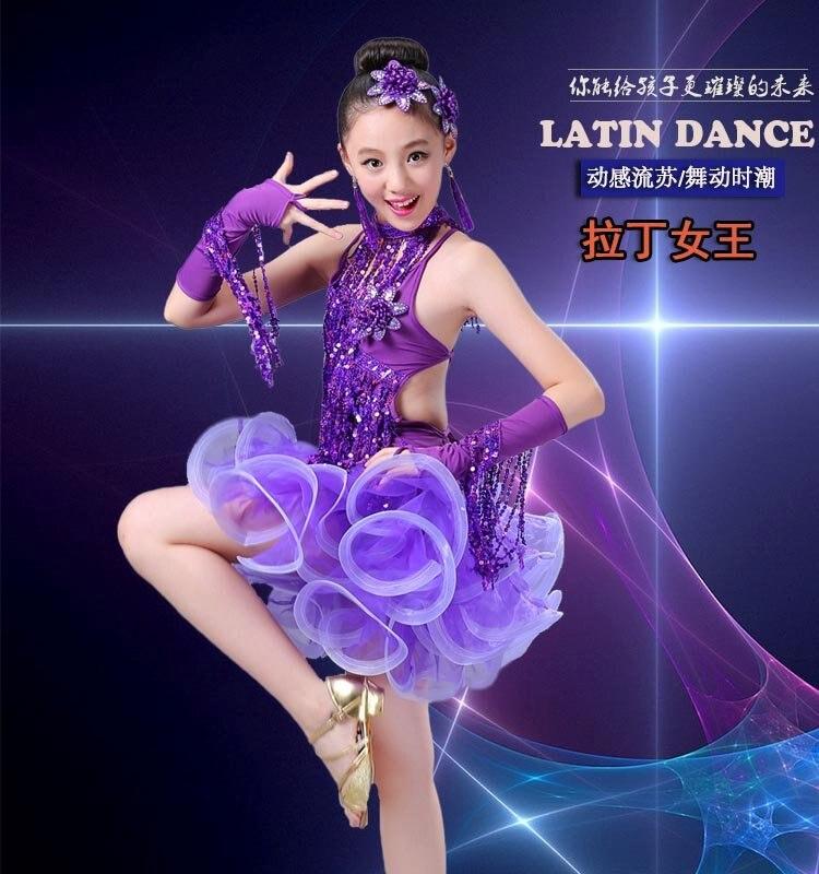 New Ballroom Dress For Children Girl Ballet Dance Kids Dance Costumes For Girls Dance Girl Performance Costumes Stage Dancewear