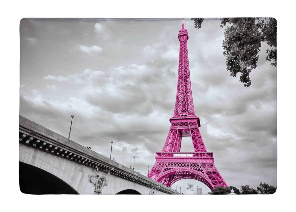 Aliexpress Com Buy Floor Mat Retro Pink France Paris