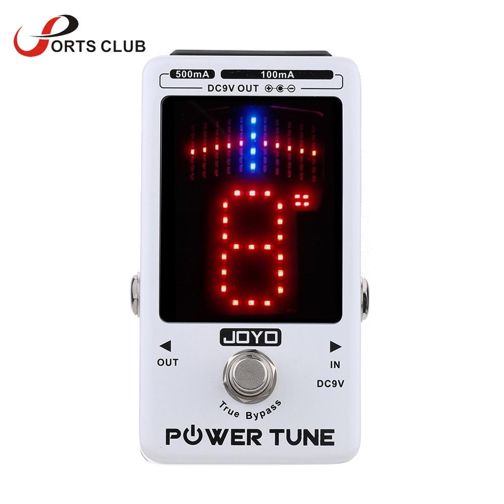 JOYO Power Tune Electric Guitar Bass Tuner 8 Port Multi power Power Supplier Effect Power Tune