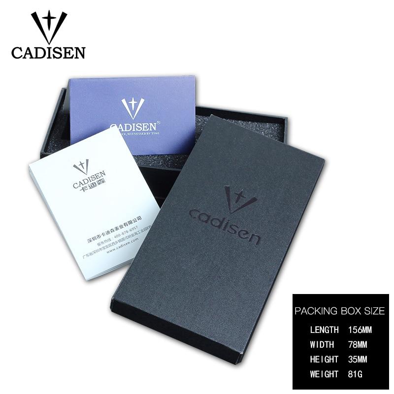 NOWY 2018 Marka CADISEN Zegarki mężczyźni Fashion Casual Zegarek - Męskie zegarki - Zdjęcie 5
