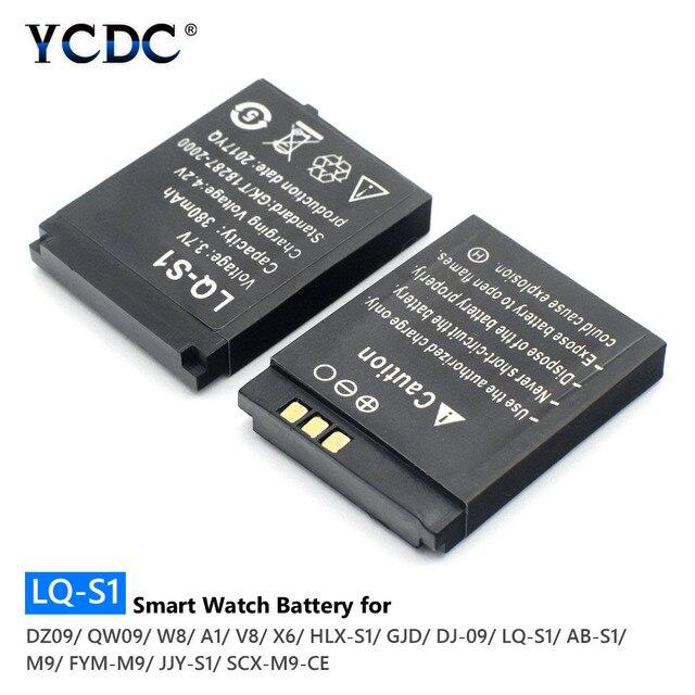 Top Quality Smart Watch Battery Lq S1 3 7v 380mah Lithium