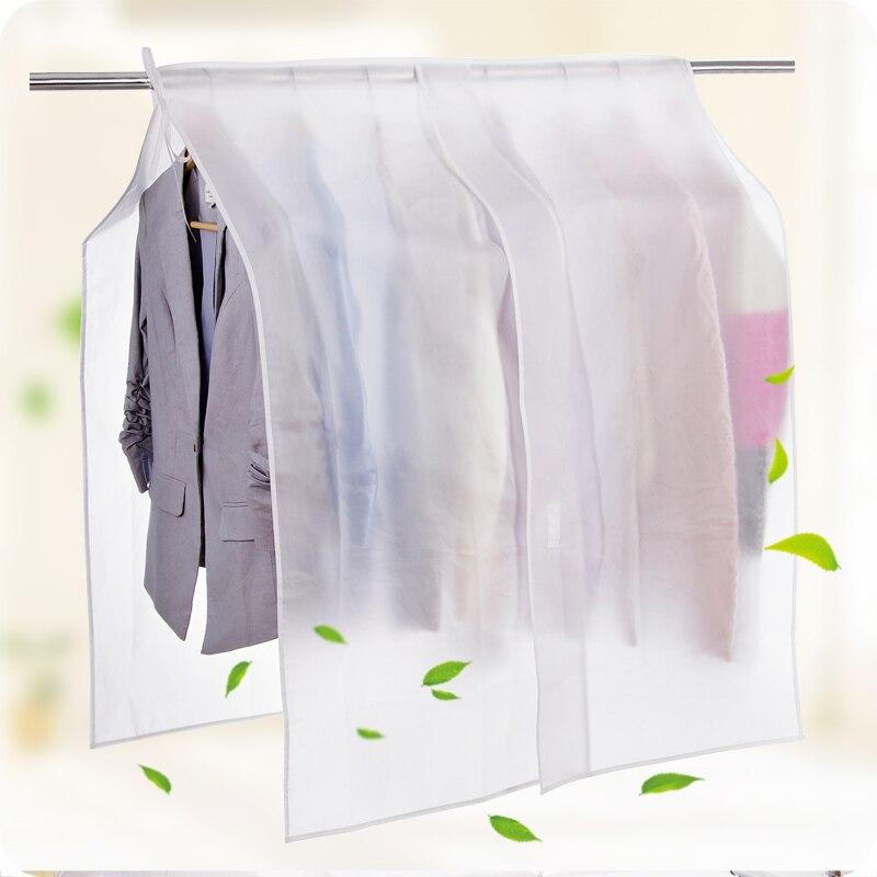 storage bag garment suit coat dust cover protector wardrobe storage bag garment bag vacuum bags household