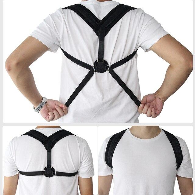 Aptoco Clavicle Posture Corrector Back Support Belt Shoulder Bandage Corset Back Orthopedic Brace Scoliosis Posture Corrector