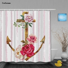 Foxscream Vintage Waterproof Polyester Fabric Bathroom