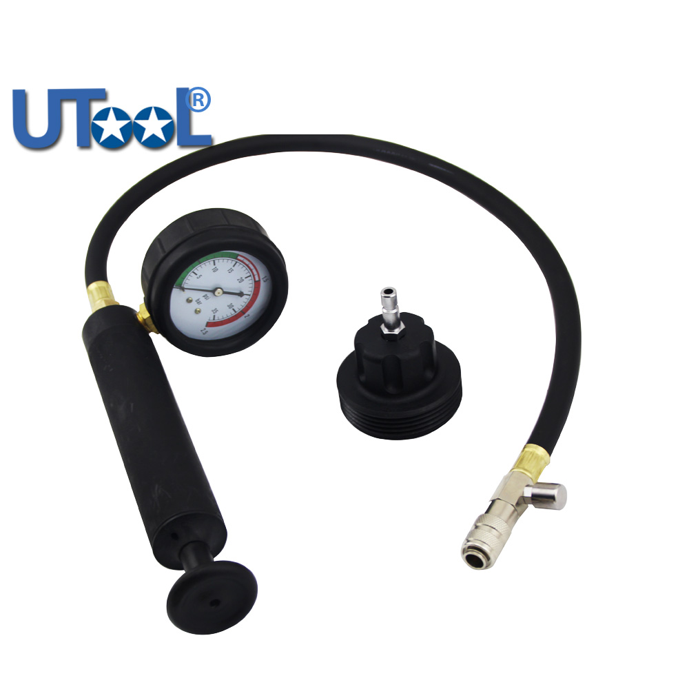 Radiator Pressure Tester Cooling System Testing Tool Special For AUDI radiator cooling fan relay control module for audi a6 c6 s6 4f0959501g 4f0959501c