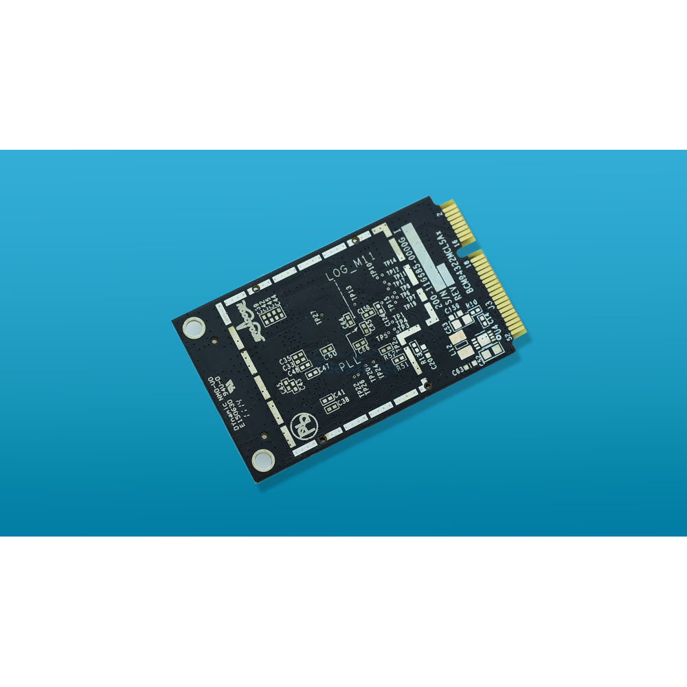 For APPLE BCM94322MC 2.4&5G 300Mbps Wireless-N Wifi Mini PCI-E Wlan WiFi Network Card Support MAC OS