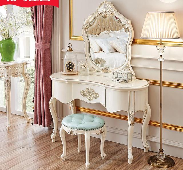 Outstanding Us 645 05 5 Off Procare Dressing Vanity Stool Set White Makeup In Bedroom Sets From Furniture On Aliexpress Com Alibaba Group Andrewgaddart Wooden Chair Designs For Living Room Andrewgaddartcom