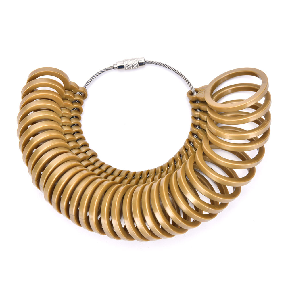 High Quality 32Pcs Measure Gauge Set Ring Sizer Finger Sizing Jeweler Jewelry Tool