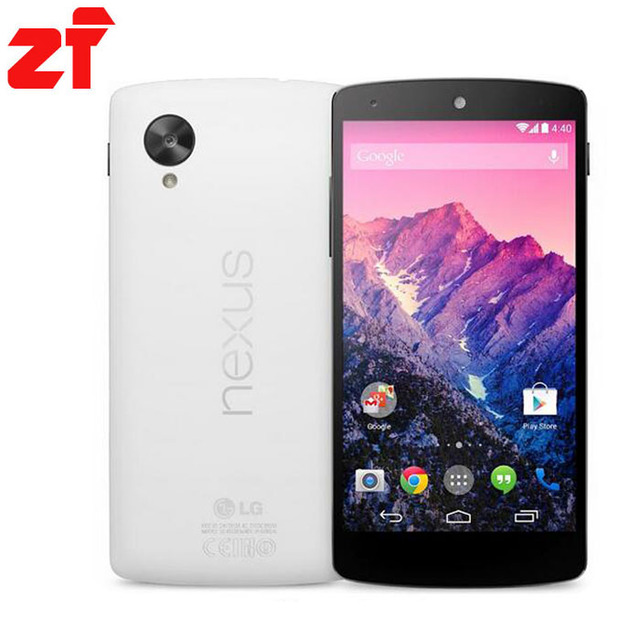 Lg nexus 5 original 32g desbloqueado android teléfono quad-core gsm 3g y 4g wifi gps 8mp d820/d821 envío gratis
