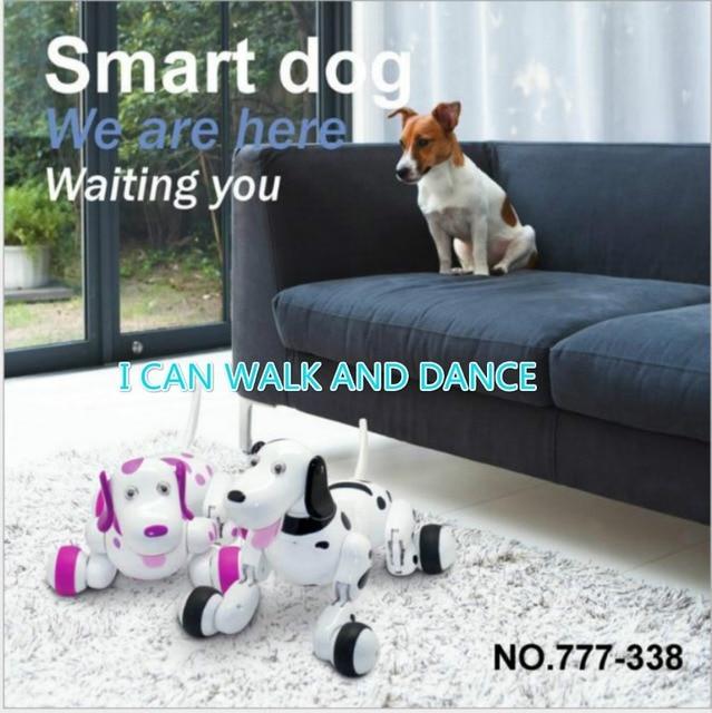 Child 2 4G Electronic Pet Wireless Smart Remote Control Robot Dog Animal Kids Educational Toys Kids