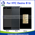 For HTC Desire 816 816W 816G 816H Original LCD Display + Touch Screen Digitizer Assembly Replacement Parts with Bezel Frame