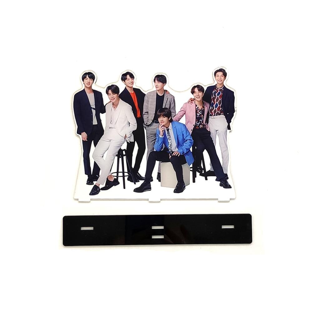 Love Thank You KPOP Bangtan Boys Group Family Acrylic Stand Figure J-Hope Jimin Jin Jung Kook RapMonster SUGA V
