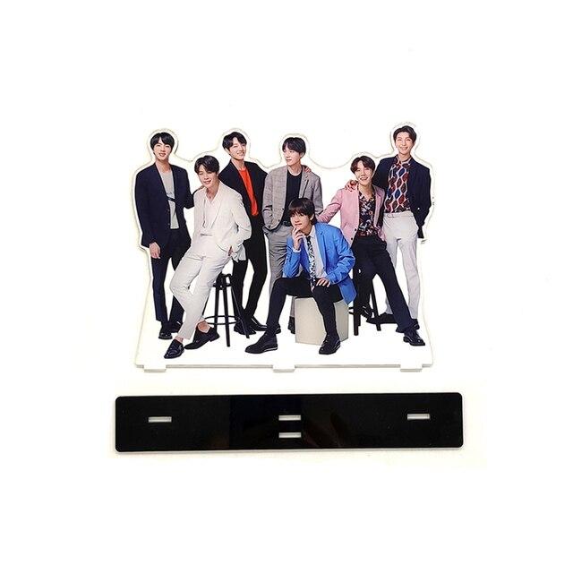 Love Thank You KPOP bangtan boys group family acrylic stand figure J Hope Jimin Jin Jung Kook RapMonster SUGA V