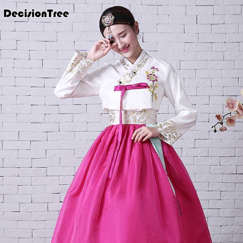fd08d21dda8eb Detail Feedback Questions about 2019 new traditional wedding palace lady  daily performances of korean hanbok clothing dance table costume show on ...
