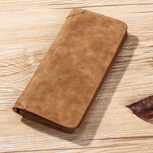 Stylish Colorful Leather Men's Wallet