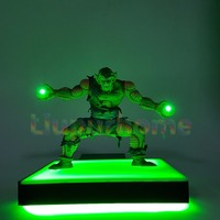 Dragon Ball Z Piccolo Kamehameha Led Light Base Anime Dragon Ball Super Goku Super Saiyan Led Lamp Room Decor