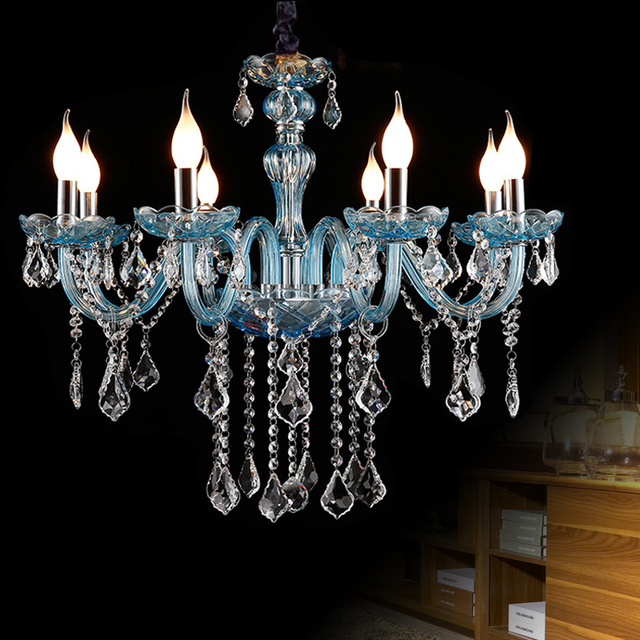 Decoration Candle Crystal Chandelier Luxurious Lighting Fixture For Living Room Hotel Wedding Decor Hanging French Style