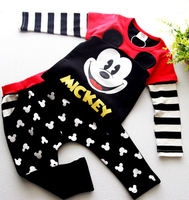 Hot Boys Casual Suit Children S Wear Autumn Sports Baby Boys Minnie Mickey Clothing Long Sleeve