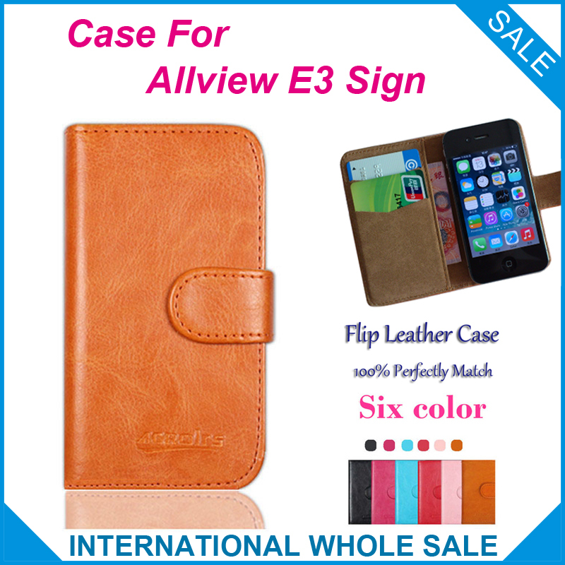 Allview E3 Sign Case New 2015 items Factory Price Flip Leather Case Exclusive Cover For Allview E3 Sign Case+tracking number