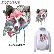 ZOTOONE Iron on Patches for Clothes Heat Transfer Fox Patch A-level Washable T Shirt Stickers for DIY Accessory Applique Kids C canada maple leaf iron on a level patches for diy t shirt bags accessory decoration applique badge sticker patches washable