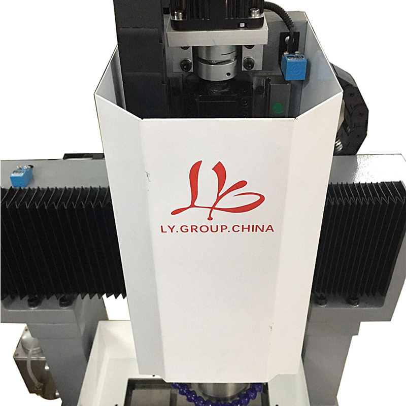 LY 3040 full cast iron 1.5KW 2.2KW 3.5KW CNC engraving machine step motor standard version 3 axis Z axis 170mm 220V (5)