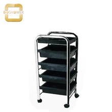 Тележка Doshower черного цвета для спа-кресла тележка с салоном красоты столик для Ногтей Мебель тележка