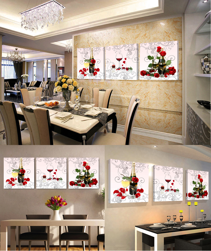 Fallout 3 Piece Cheap Modern Canvas Prints Frames Wall Pop Art Kitchen Pictures Oil Painting Paintings For Living Room Sale In Calligraphy From
