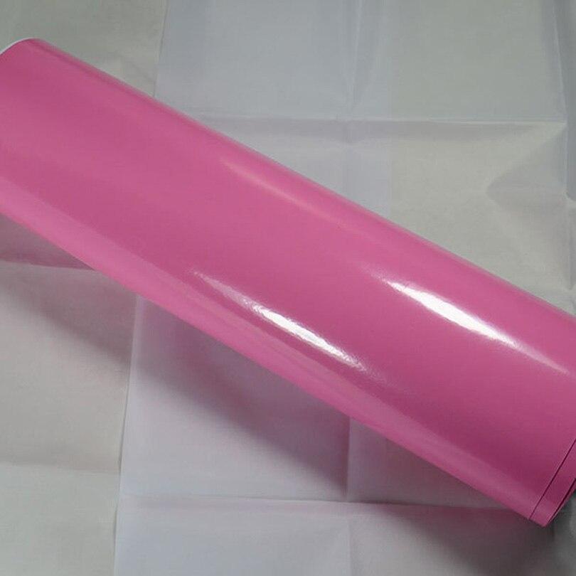 1.52X15M пользовательские 3D розовый глянцевый винил автомобиля стикер стайлинга автомобилей модификация органе внутренних дел Защита наклейки украшения