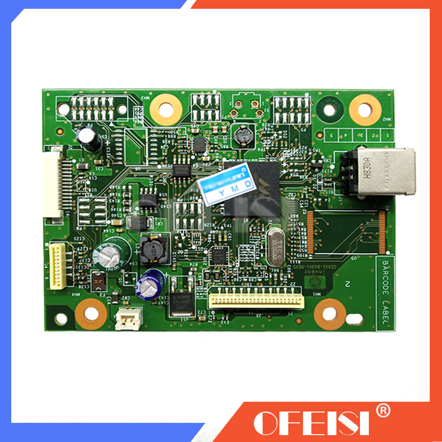 CE831-60001 Formatter PCA Assy Formatter Board logic Main Board MainBoard mother board for <font><b>HP</b></font> M1136 <font><b>M1132</b></font> 1132 1136 M1130 image