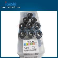 New 10pcs Hitachi RDMX1604 MOTN CY250 Round Carbide inserts CNC Milling cutters