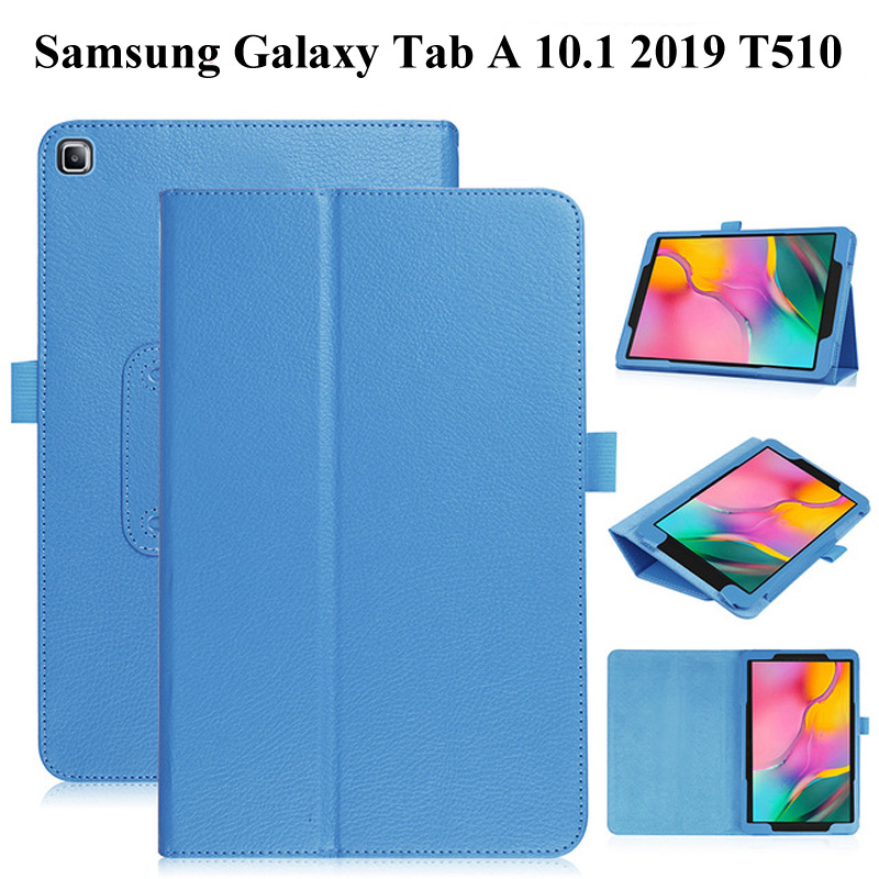 Litchi Style Tablet Case for Samsung Galaxy Tab A 10.1 2019 T515 T510 SM-T510 SM-T515 10.1 inch PU Leather Folding Case+film+penLitchi Style Tablet Case for Samsung Galaxy Tab A 10.1 2019 T515 T510 SM-T510 SM-T515 10.1 inch PU Leather Folding Case+film+pen