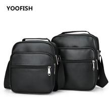 купить New Fashion designer high quality PU leather men shoulder bag casual zipper bags for men Crossbody Bags   Free shipping по цене 1053.17 рублей