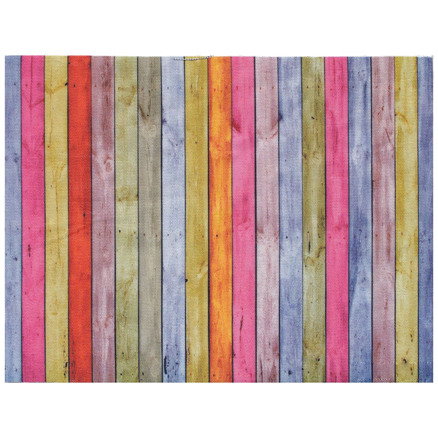 5x3ft Children Photography Backdrops for Photographers Collapsible Colorful Wood Wall Photo Backdrop