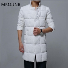 MKOIJNB brand new style men winter thicken single-breasted cotton-padded jacket men parkas hombre men's handsome quality coats