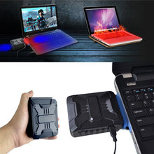 Mini Vacuum USB Laptop Cooler Air Extracting Exhaust Cooling Fan CPU Cooler for Notebook computer hardware cooling(China)