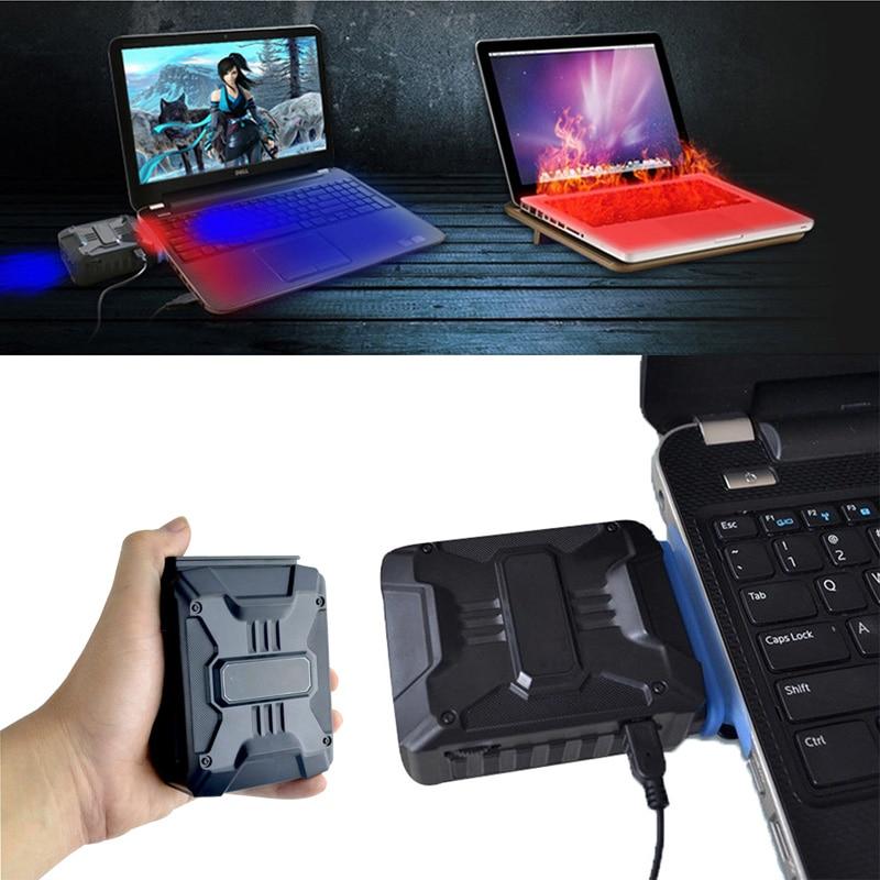 Mini aspirador USB portátil enfriador de aire Extractor de escape ventilador de refrigeración CPU enfriador para ordenador portátil hardware refrigeración