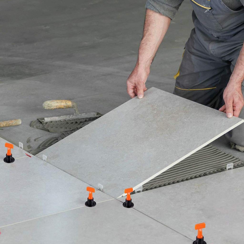 2019 New Flat Ceramic Floor Wall Construction Tools Reusable Tile Leveling System Kit Ceramic Floor Wall Construction Tools