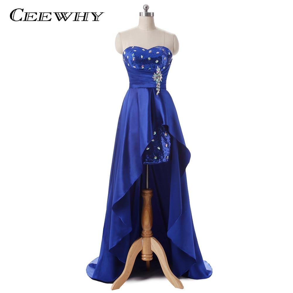 US $10.10 Sweatheart Asymmetrische Abendkleider Lange Gericht Zug Mermaid  Schwalbenschwanz Prom Kleider Kristall Korsett Kleid vestidos de
