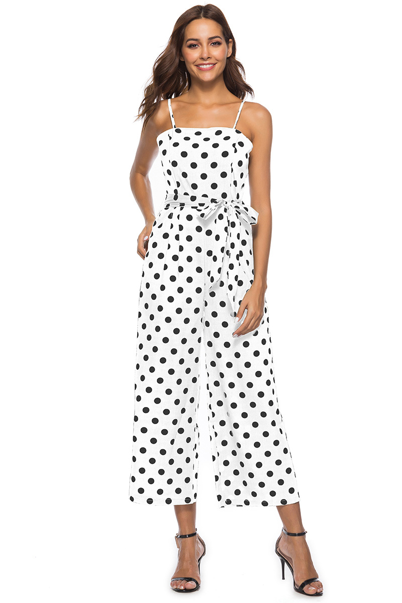HTB1QUMBbinrK1Rjy1Xcq6yeDVXas - Women Rompers summer long pants elegant strap woman jumpsuits polka dot plus size jumpsuit off shoulder overalls for womens