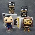 1 pcs FUNKO POP Mulher Maravilha Batman VS Superman DC Vinil amanhecer 86 84 85 89 Da Liga Da Justiça Figura de Ação Coleção PVC Knightmare