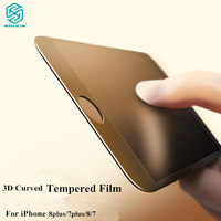2016 HOCO Brand Full Cover 3D Curved HD Tempered Glass Protector Film For IPhone 7 7Plus